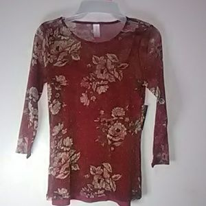 Women's top size small (3-5)